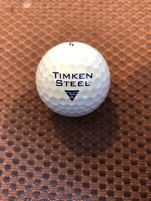 Used, LOGO GOLF BALL-TIMKEN STEEL....PROV1X BALL for sale  Shipping to India