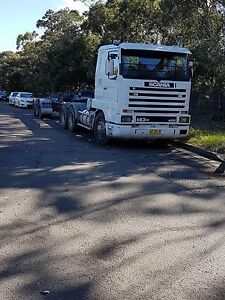 Scania 143M and Trailer with introduction to work $40000 Botany Botany Bay Area Preview