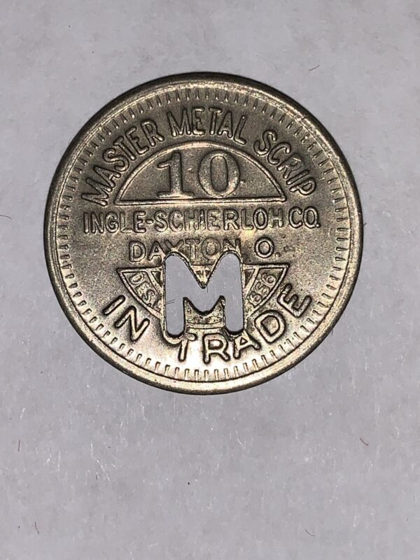 Macon Textiles 10¢ Commissary Scrip Company Store Coin Token Collectible US