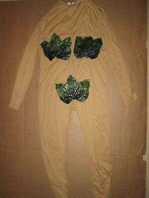 Womens ADAM & EVE Eve leotard Halloween costume fits up to 100 lbs - Eve Costume Halloween