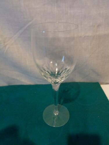 "ORREFORS SWEDEN ""PRELUDE"" by Nils Landberg CLEAR CLARET WINE GLASS 7-1/4"""