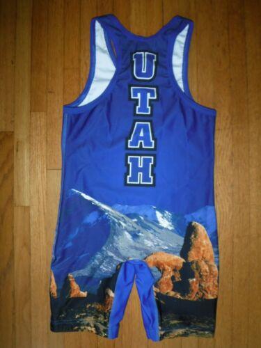 Cliff Keen TEAM UTAH Wrestling Singlet Size Small Suit CK