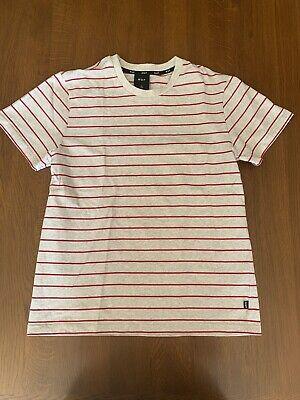 HUF Logo T shirt | Grey | Large