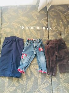 Boys 18 Month Old Pants