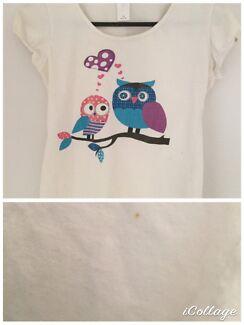 Range of kids/teen t-shirts $5