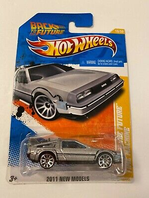 Hot Wheels 2011 New Models Back To The Future Time Machine 18/50
