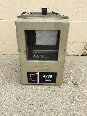 Isco 4230 Bubbler Flow Meter 603234048 - Turns On - For Parts Only.