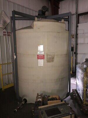 Poly Processing 1000 Gallon Liquid Storage Polyethylene Tank