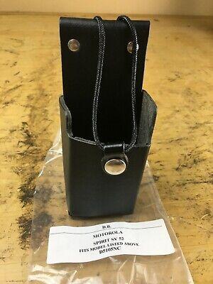 Motorola Spirit Sv 52 Leathersmith Radio Holster Fire Police Rugged Belt