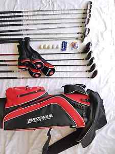 Brosnan Red Centre Full Golf Set + Bag + Tees + Balls For Sale Ascot Brisbane North East Preview