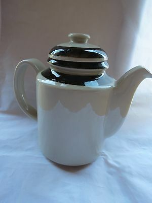 "Arabia Of Finland  Coffee Tea Pot 8"" W/ Lid Mid Century Modern MCM Pottery"