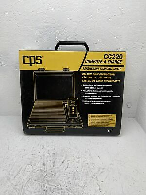 Cps Cc220 Compute-a-charge High Capacity Refrigerant Charging Scale - 220lb