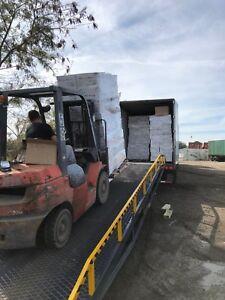 Yard Ramp, Trailer loading Dock, Forklift Ramp-  24K lb. 86