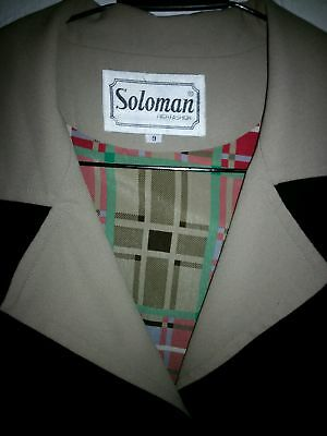 Soloman high fashion WOMENS 1990'S VINTAGE JACKET SIZE M 10-12