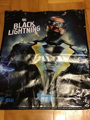 Black Lightning SDCC 2018 Exclusive Swag Bag Backpack NEW UNUSED from Comic Con