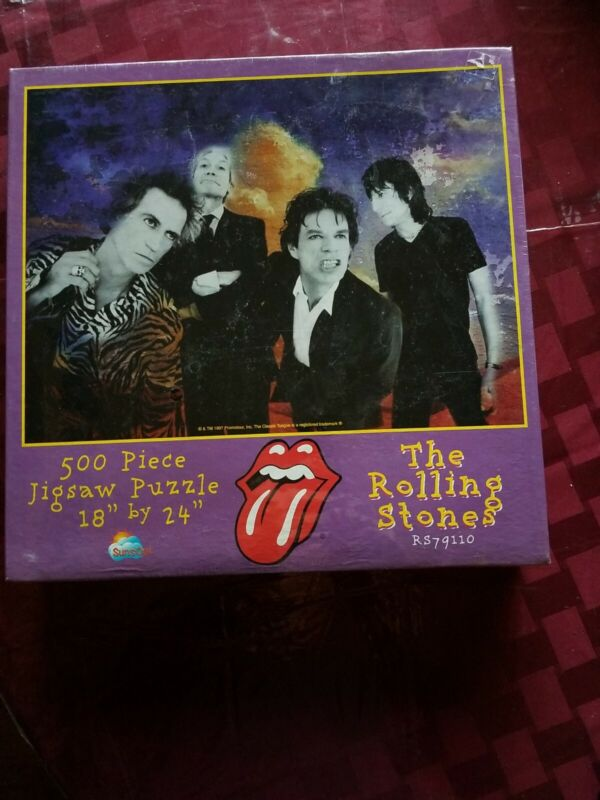 ROLLING STONES PU ZZLE NEW SEALED