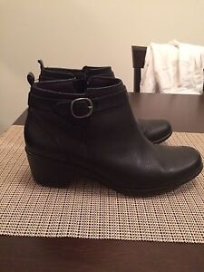 Leather Booties/ Ankle Boots