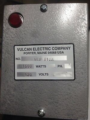 Vulcan Wtp910a Immersion Heater 14-18 In. L New Without Box.