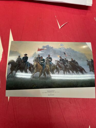 Mort Kunstler Original Morning Riders