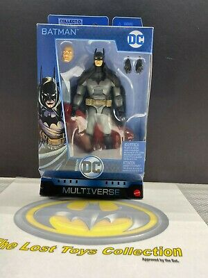 DC Comics Multiverse Gotham City Gaslight Batman Figure ~ Mattel New In Box