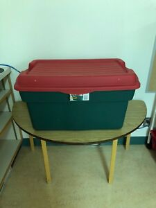 Large Size Christmas Storage Tote