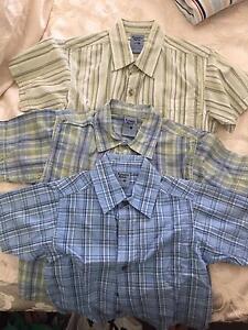 Boys Pumpkin Patch Dress Shirts & Shorts - like new, hardly worn Bar Beach Newcastle Area Preview