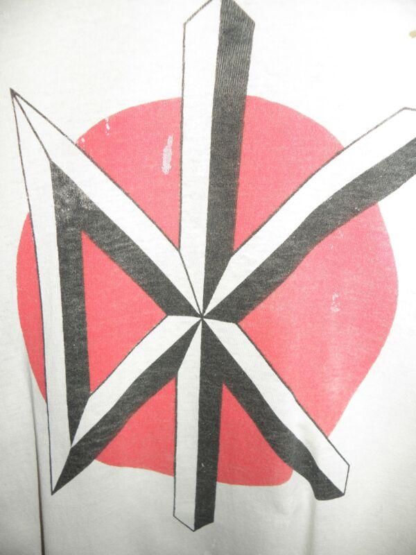 Dead Kennedys Logo T-Shirt Vintage Original 1980s DK