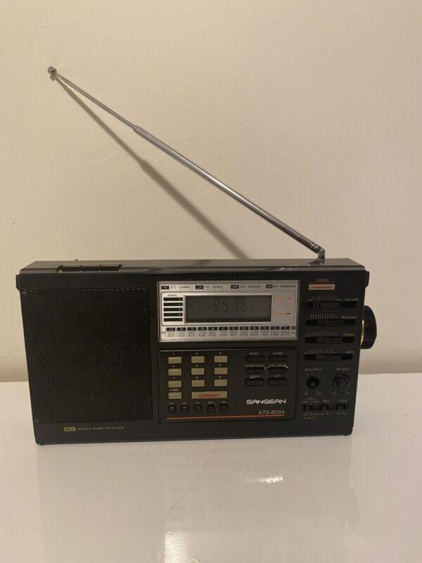 🔥Vintage Sangean ATS-803A FM/AM/SW Radio Receiver/ In Great Condition🔥