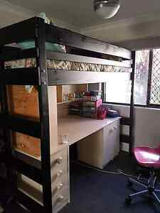 Single Loft Bed - Bunkers - king size Warner Pine Rivers Area Preview