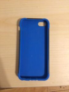 Black / Blue Konnet iPhone 5 s,c,5,SE case