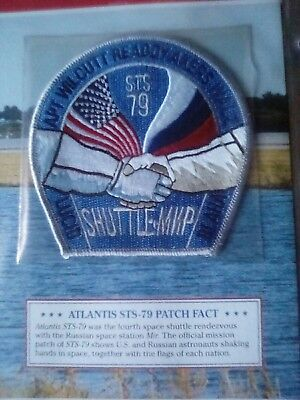 Official NASA Space Mission Patch ATLANTIS STS-79 for sale  Shipping to Canada