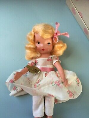 Nancy Ann Storybook Doll - #110 Little Miss, Sweet Miss- Wrist Tag/Box