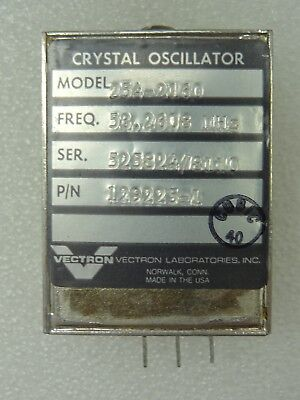 Vectron Model 254-2160 Crystal Oscillator Pn 129225-1 53.2608 Mhz
