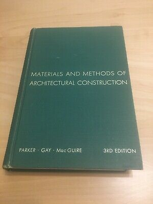 Materials And Methods Of Architectural Construction