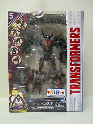 TRANSFORMERS THE LAST KNIGHT INFERNOCUS COMBINER ACTION FIGURE TOYSRUS MISB NEW