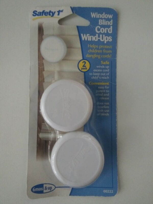 Safety 1st Blind Cord Wind-Ups 2 Pack: Child Safety Proof