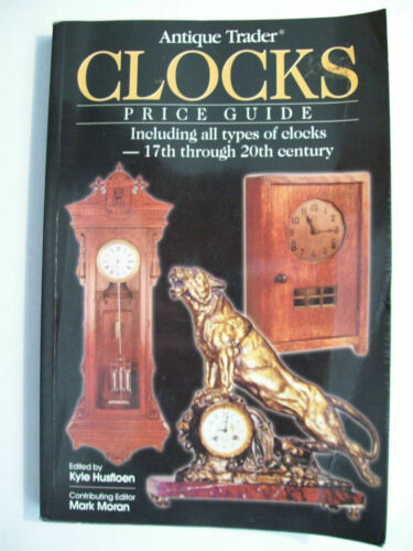 ANTIQUE CLOCKS $$$ ID PRICE GUIDE COLLECTOR