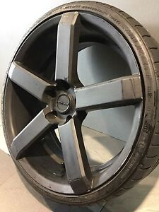"PDW FURY 20"" ALLOY WHEELS AND TYRES Carramar Fairfield Area Preview"
