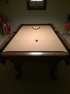 Beautiful Golden West  8 ft  Pool Table