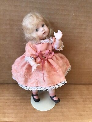 VINTAGE SMALL BISQUE DOLL