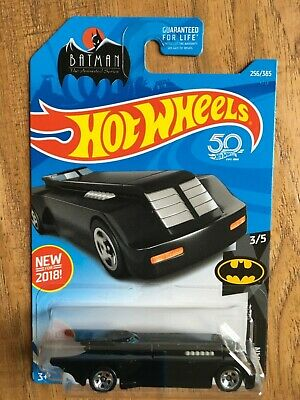 2018 HOT WHEELS BATMAN THE ANIMATED SERIES BATMOBILE Black