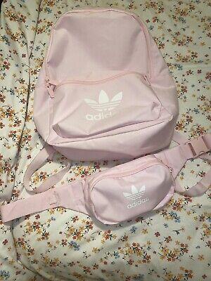Pink Adidas Bag Set