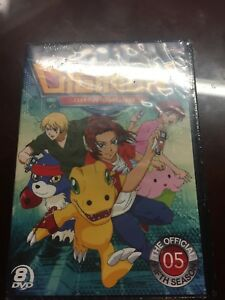Digimon Data Squad: Season 5 Anime DVD (Sealed)