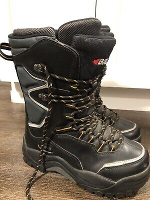 Mens Size 7 Baffin Lightning Snowmobile Boots - Winter Snow