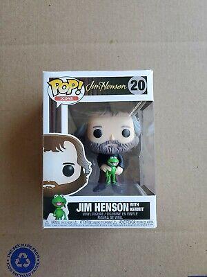 Funko Pop! Icons: Henson - Jim Henson w/ Kermit the Frog Vinyl Figure