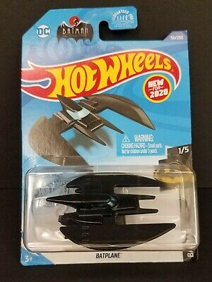 New casting for 2020 Hot Wheels DC Batman Series 1/5 BATPLANE ~ Box Ship Free