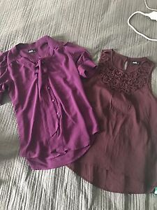 2x dotti tops both size 8 Aberglasslyn Maitland Area Preview