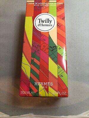 HERMES TWILLY D'HERMES BODY SHOWER CREAM 6.5 OZ / 200 ML SEALED IN BOX Hermes Body Cream