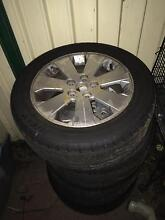 Holden Commodore rims n tyres $350 urgent Moree Moree Plains Preview