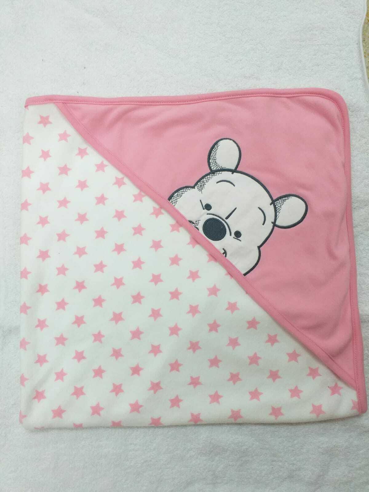 Winnie Pooh Kapuzenhandtuch Handtuch Badetuch Baby Kinder Farbwahl